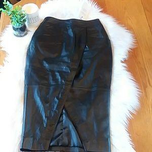 GORG Leather ASOS Skirt